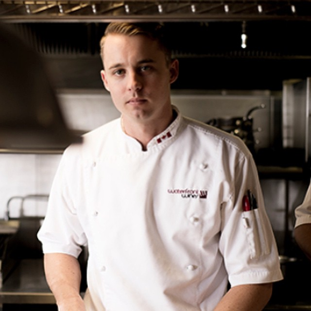 Moving forward. Nelson Daniels is now the Restaurant Sous Chef…