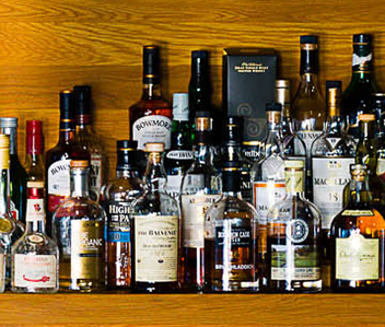 Our collection of premium alcohol