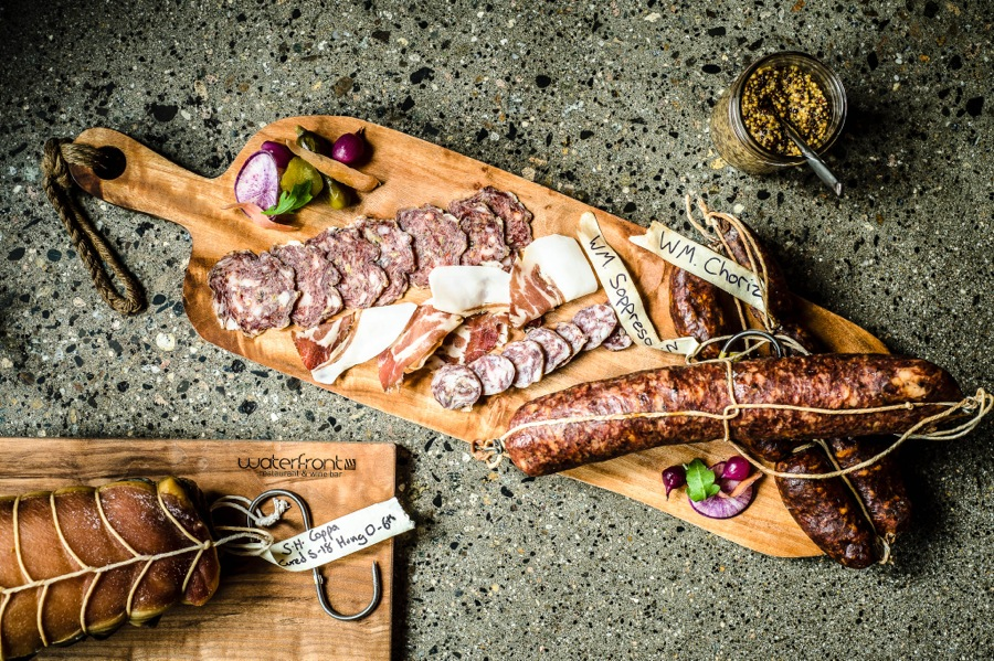 Waterfront Wines charcuterie