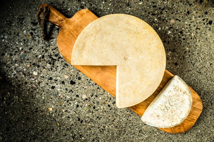 Locally sourced Okanagan cheeses