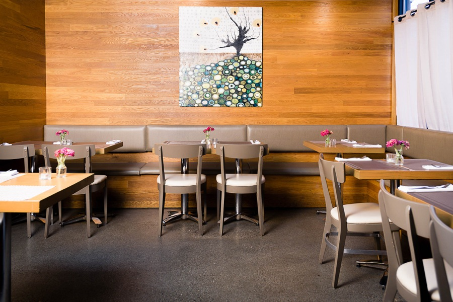 Waterfront Wines Restaurant private dining room for large reservations