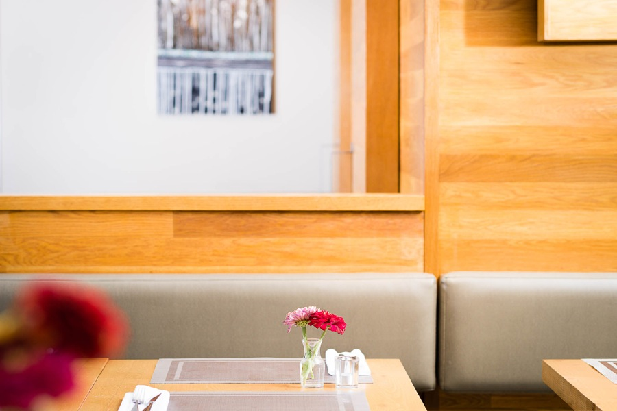 Waterfront Wines Restaurant cozy atmosphere