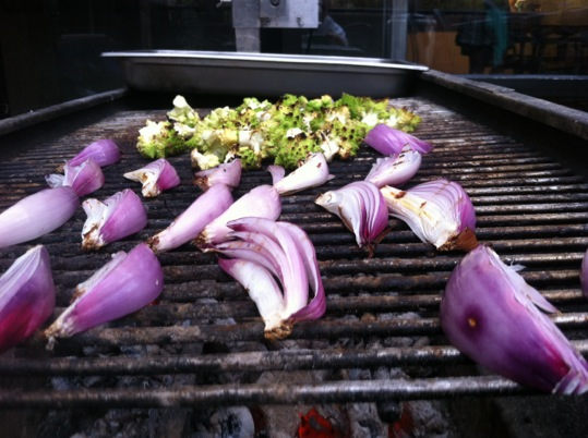 Waterfront Wines Gallery: grilled onions