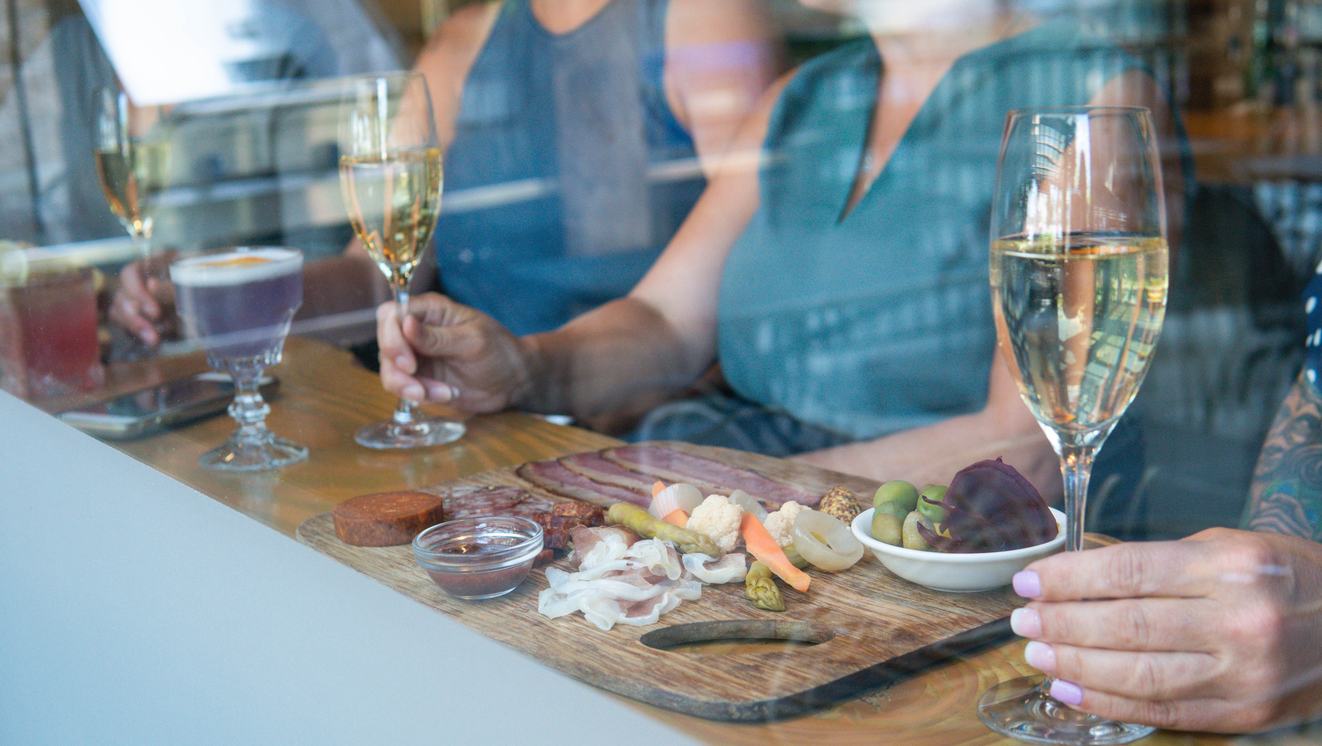 FOOD, WINE, AND GOOD TIMES ARE MEANT TO BE SHARED